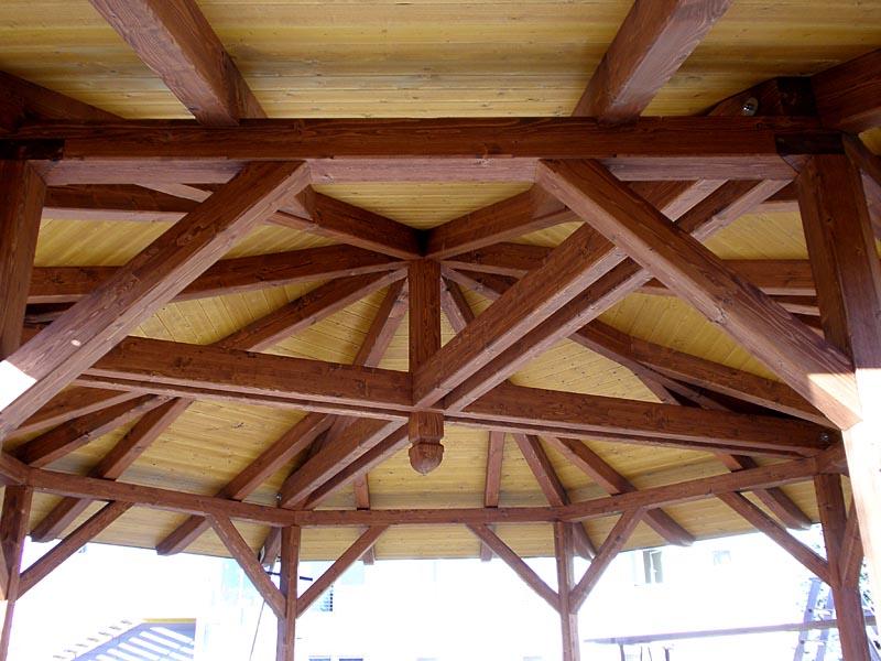 pavillon holz dachkonstruktion – bizfast,